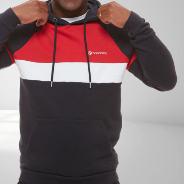 sweat tricolore homme pornic