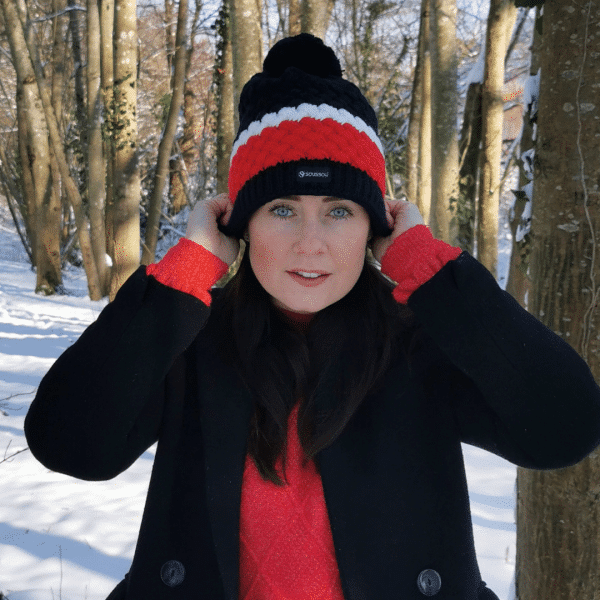 bonnet femme tricolore